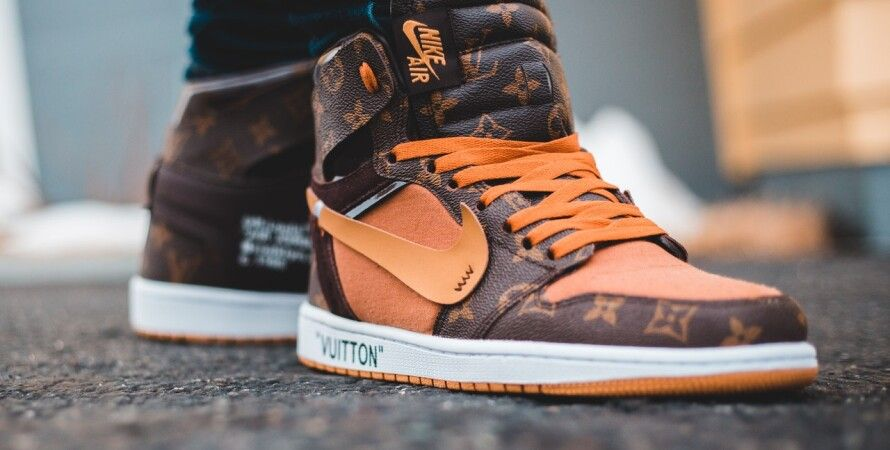 Brown Nike Air Jordan 1 Shoes