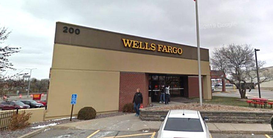 Wells Fargo, США, Миннесота, Банк, Грабитель, Заложники, Полиция