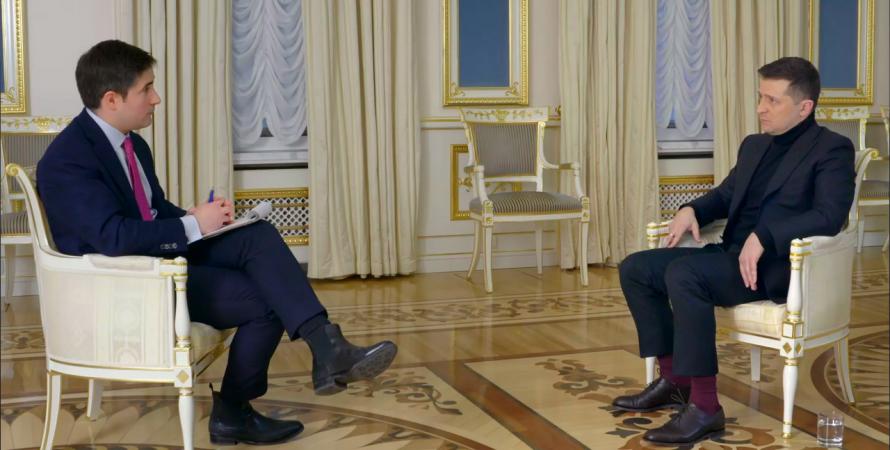 інтерв'ю Зеленського, інтерв'ю президента Axios, axios hbo, зеленский про нато, президент про Байдена, Джо Байден