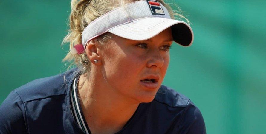 Катерина Козлова, теннис, матч, ITF, WTA