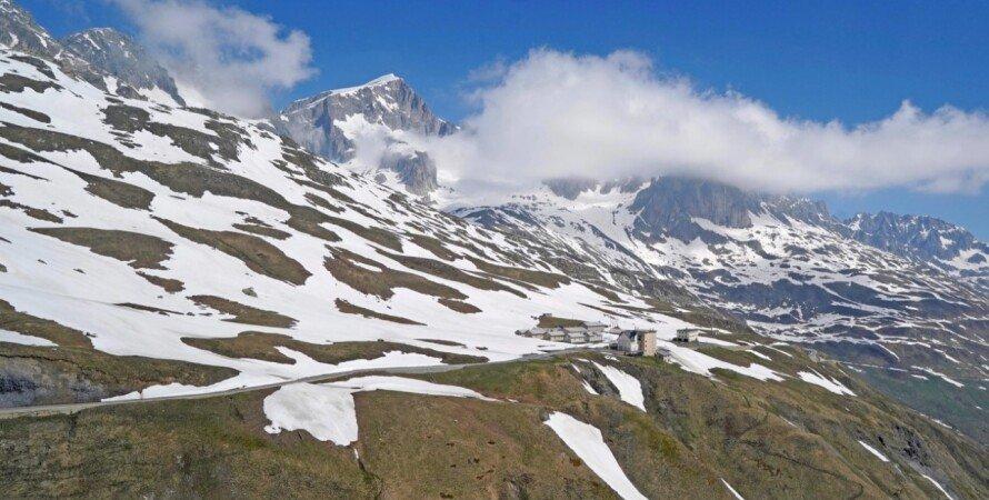 Альпы, снег, изменение климата, глобальное потепление