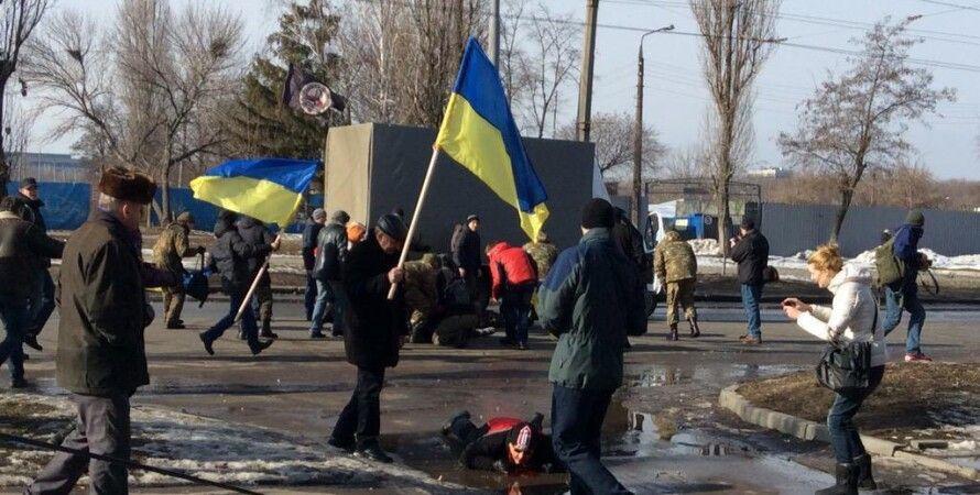 Последствия теракта в Харькове 22 февраля / Фото: soborna.com