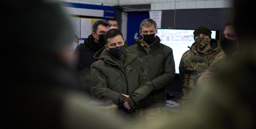 Владимир Зеленский, Зеленский, президент, офис президента, донбасс