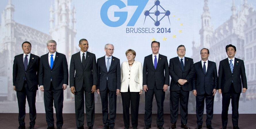 """Саммит """"большой семерки"""" в Брюсселе / Фото: Fotospublicas.com"""