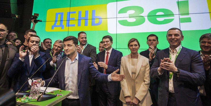 Слуги народу, команда Зеленського, вибори в ВР в Україні