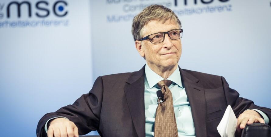 Билл Гейтс, Microsoft, миллиардер, филантроп