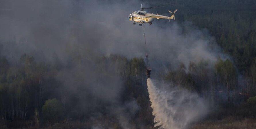 "Тушение лесного пожара / Фото: ""РИА Новости"""