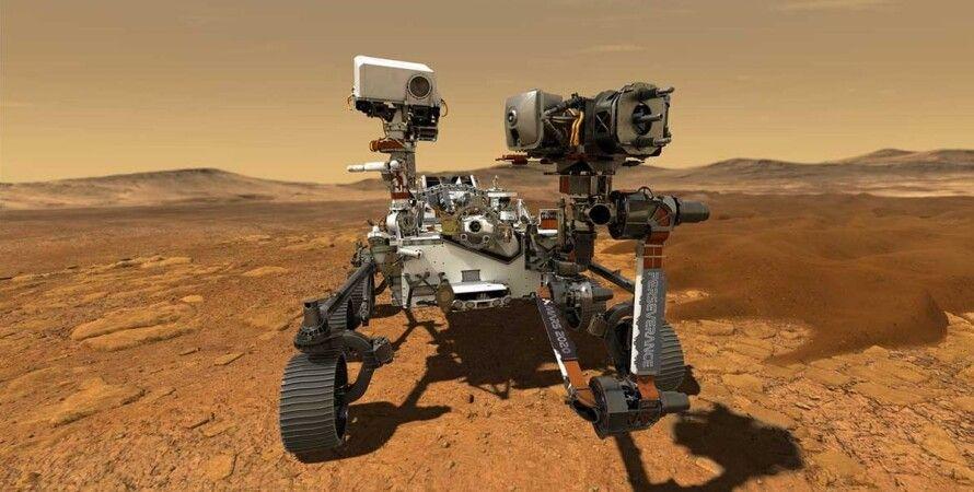 Марс, марсоход, Perseverance, фотографии,