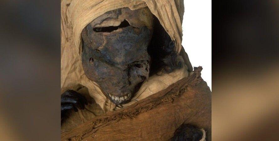 мумія, фараон, кістки, травми