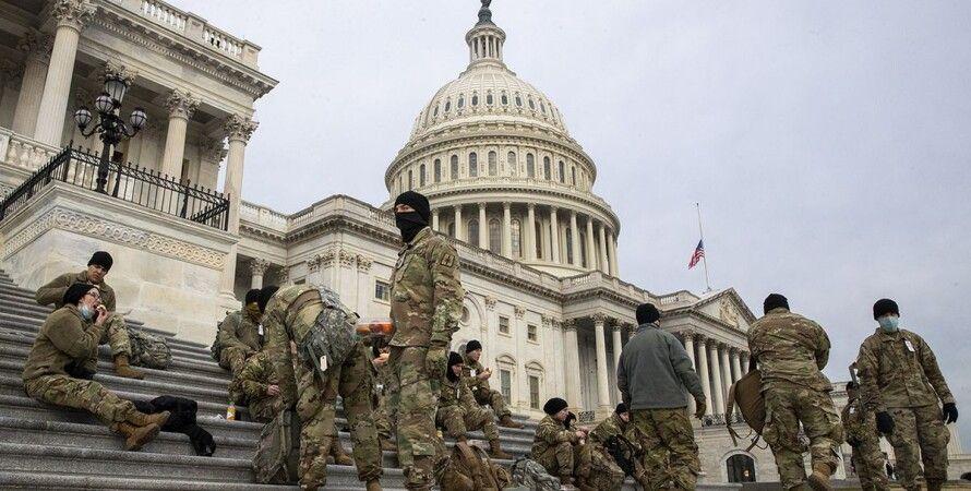 США, Вашингтон, Капитолий, штурм, полиция, охрана,
