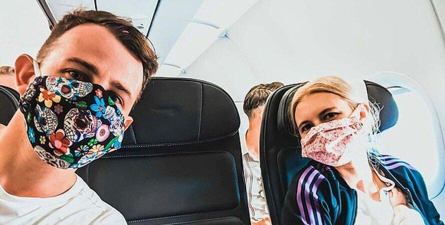 самолеты, полеты, путешествия, коронавирус, заражение, риск,