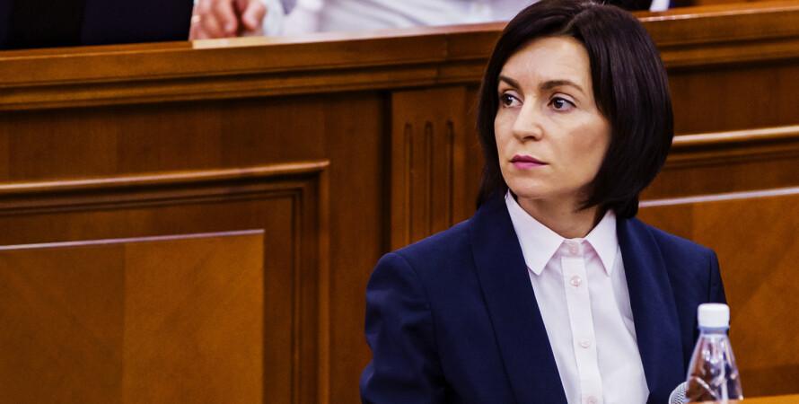 Майя Санду, избранная президентом Молдовы, новый президент Молдовы