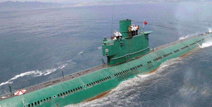 КНДР, Підводний човен, Балістичні ракети, Кім Чен Ин