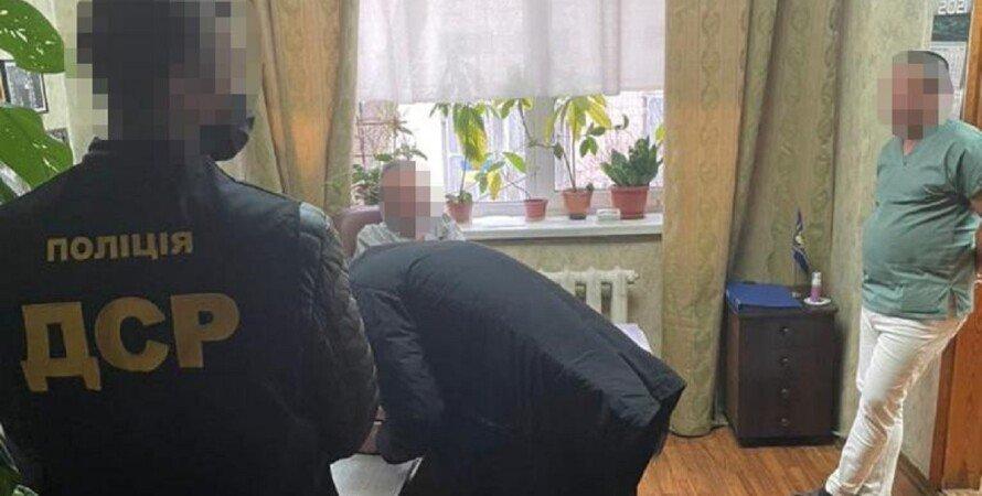 Полиция, врач, Киев