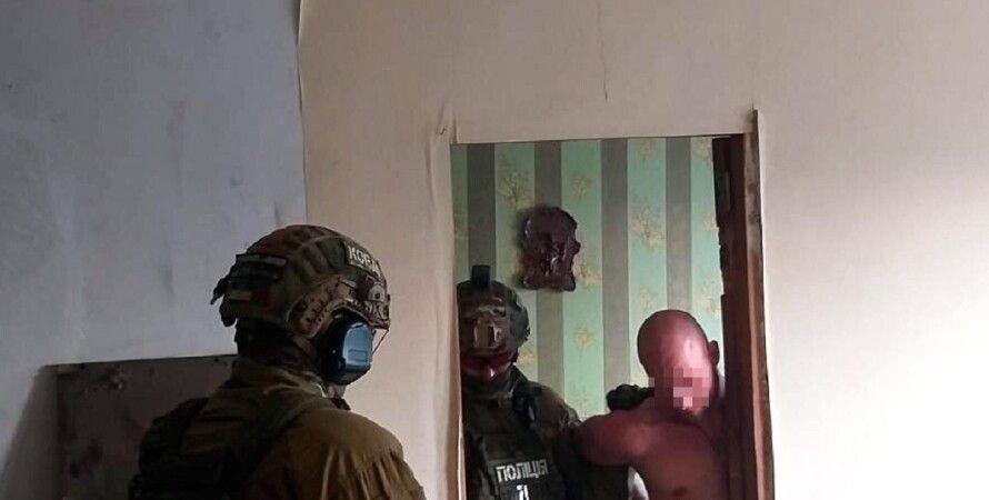 Николаев, спецназ, задержание