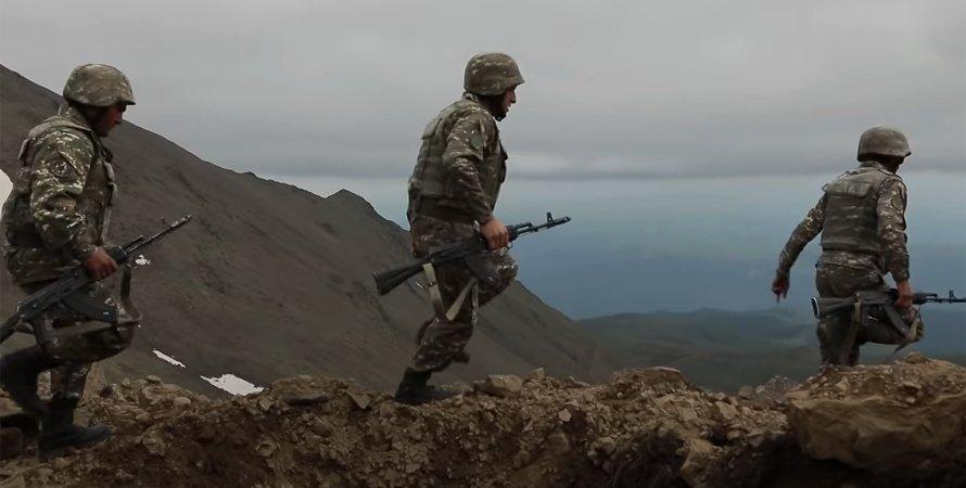 бої на кордоні Азербайджану і Вірменії