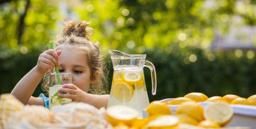 напитки, лето, кувшин с лимонадом