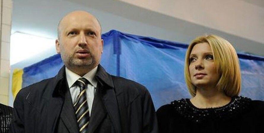 Александр Турчинов с женой Анной / Фото: Цензор.нет