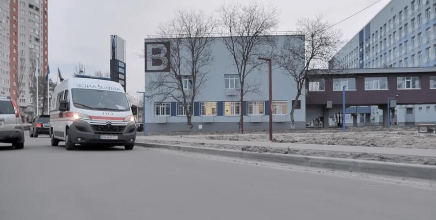 коронавирус, скорая, больница, киев, фото