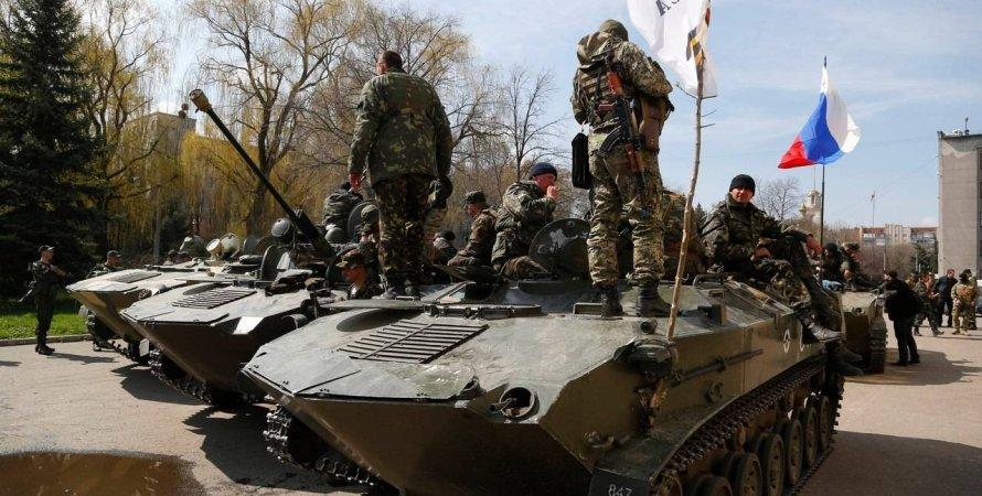 оккупанты заявляют о готовности к нападению