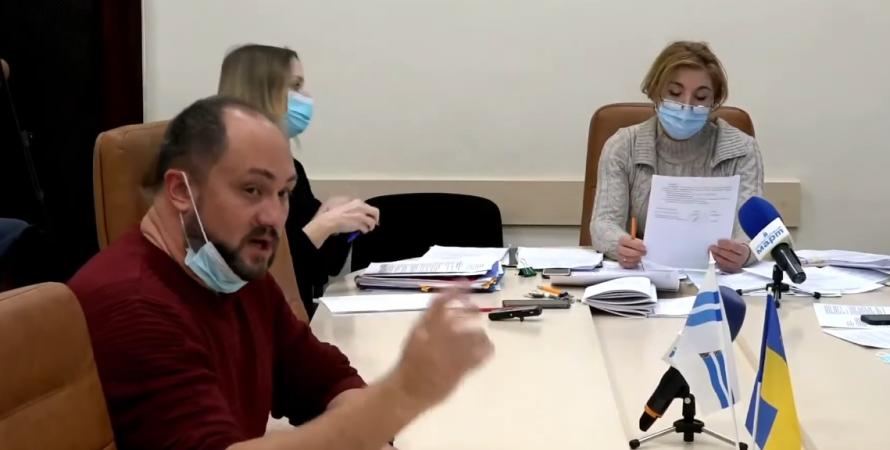 николаевский горсовет, заседние по этике