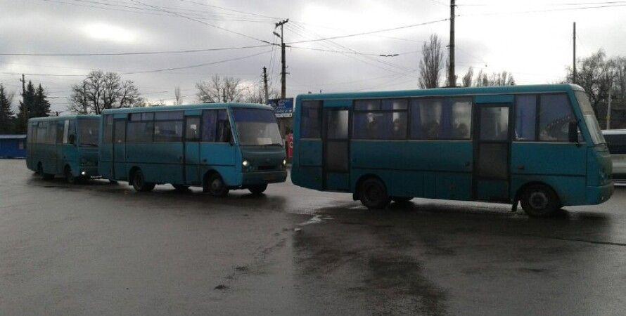 "Пленные со стороны ""ЛНР"" \ Фото: InsideDonetsk"