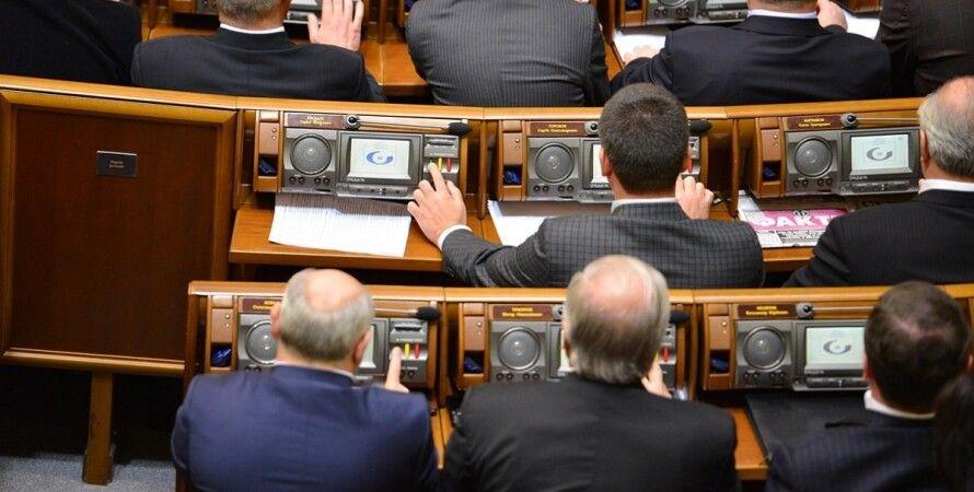 голосування в Раді, сенсорне управління