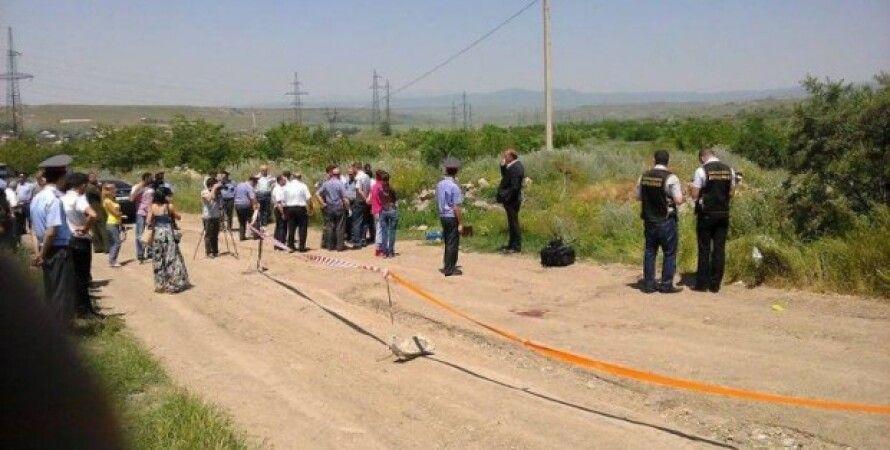 """В Армении обнаружено тело российского солдата / Фото: """"Новости Армении"""""""