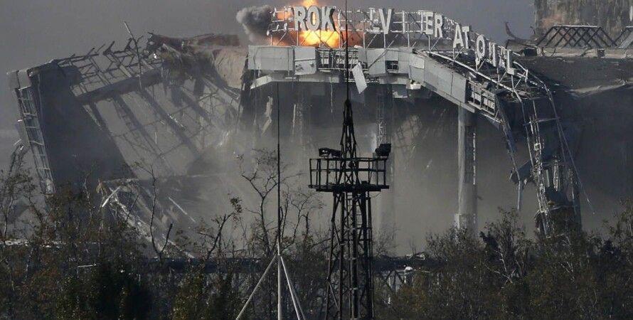 Донецкий аэропорт / Фото: Facebook.com/sergei.loiko