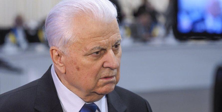 Леонид Кравчук, кравчук, глава украинской делегации в ТКГ, первый президент Украины