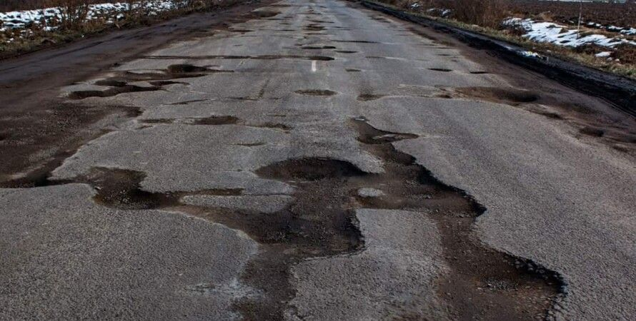 Трасса Мукачево-Рогатин\Фото Facebook Serhiy Hudak