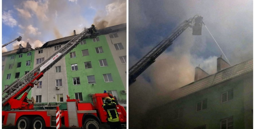 взрыв, взрыв под Киевом, взрыв в доме под Киевом, пожар под Киевом