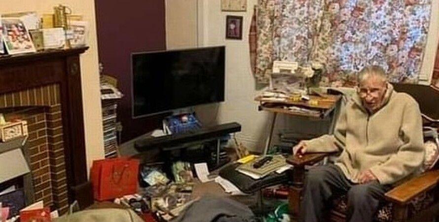 Великобритания, кража, шахтер, пенсионер, Рождество, Тед Грин, грабители, благотворительность