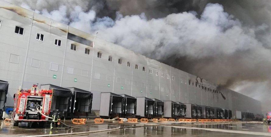 пожар, склады, АТБ, Одесса
