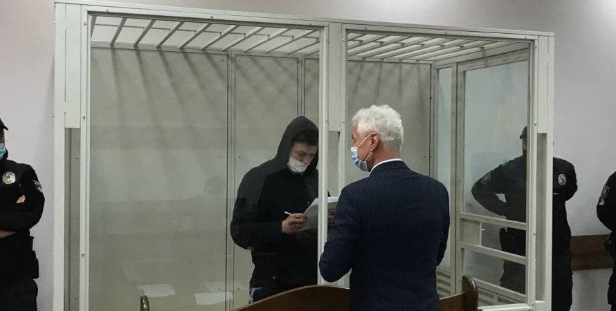 Киев, ДТП, суд, Павел Белоконь