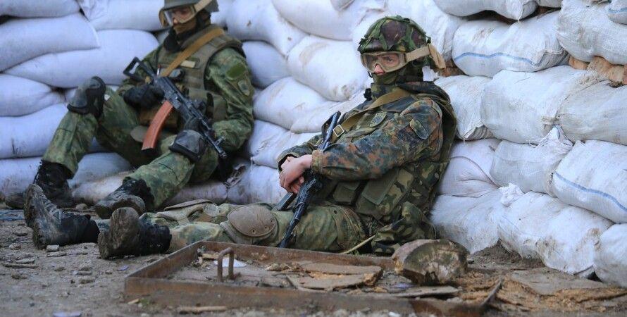 Украинские воины в Донбассе / Фото пресс-центра АТО