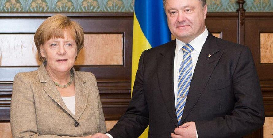 Ангела Меркель и Петр Порошенко / Фото: flickr / Romanenko Taras