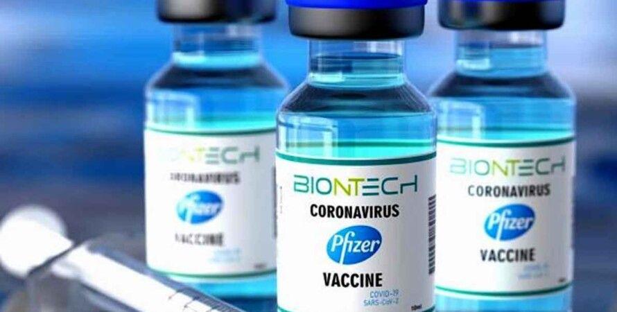 pfizer, вакцина, коронавирус, вакцина от коронавируса, коронавирус в украине