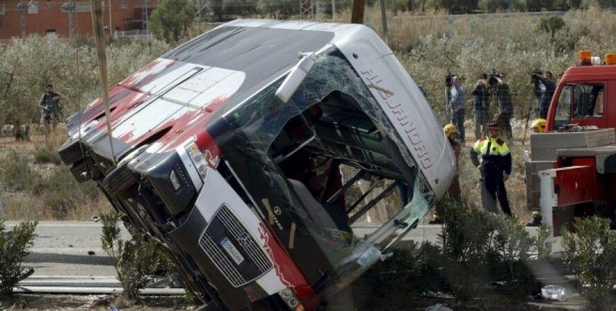 В Испании разбился автобус со студентами / Фото из открытых источников