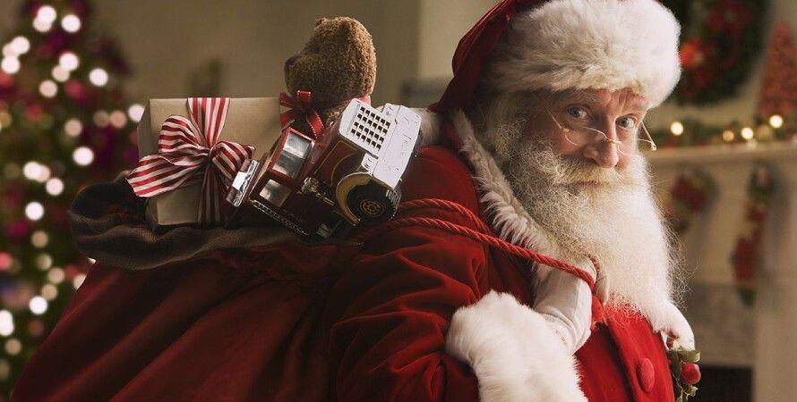 Санта-Клаус, рождество, санта, подарки