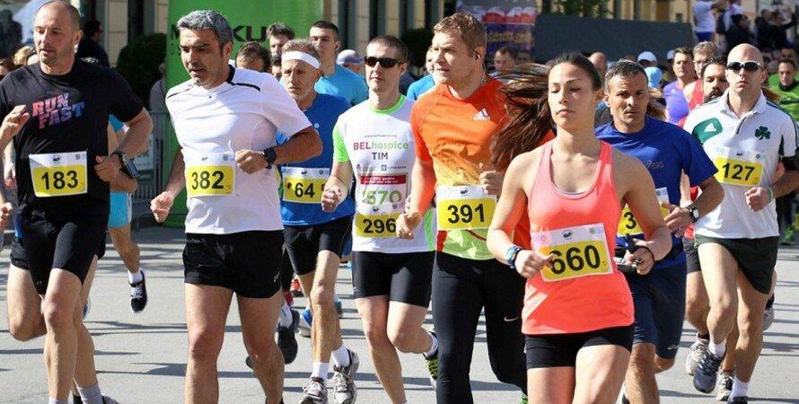 Киев, марафон, улицы, перекрытие, 25 апреля,