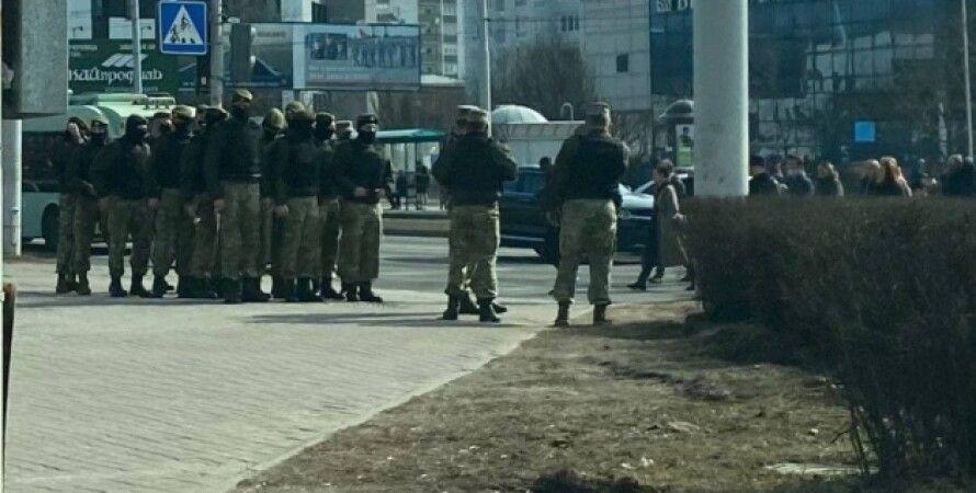 Беларусь, Протесты, Задержания, День воли, Журналисты, Силовики