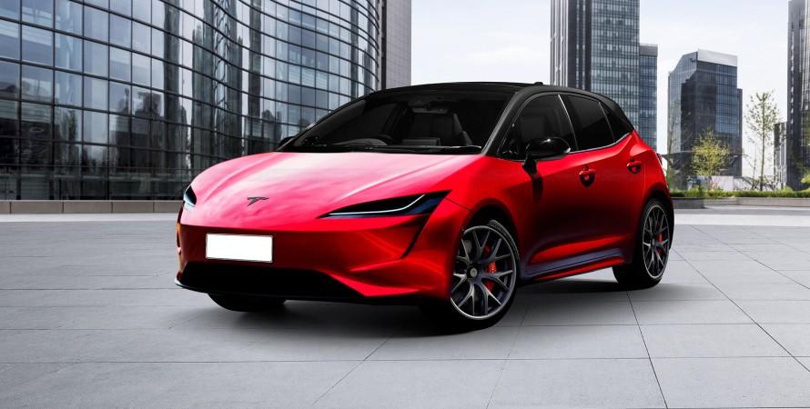 Tesla Model 2 батарея BYD
