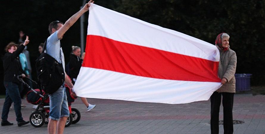 национальный флаг, беларусь, фото