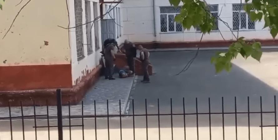 стрельба в черноморской школе