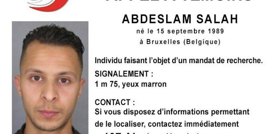 Розыскная карточка Салаха Абдеслама / Фото: French police