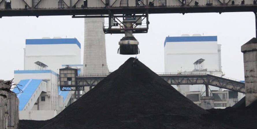 вугілля, електростанція