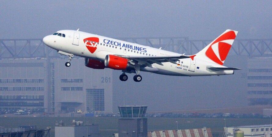 Чехія, авіакомпанія, Czech Airlines, коронавірус, пандемія, банкрутство,