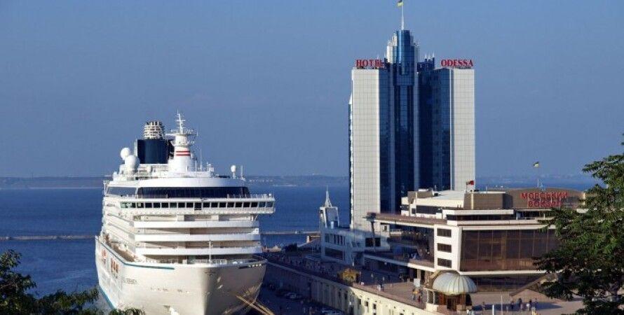 Одесса, порт, причал