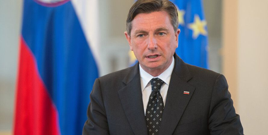 Президент Словении Борут Пахор / Фото: Sputnik Эстония